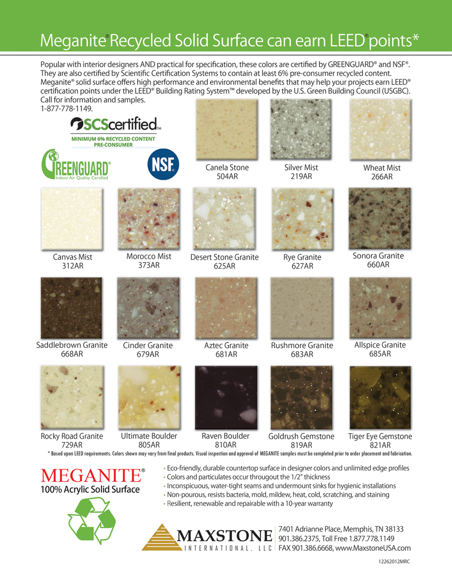 Recycled Meganite